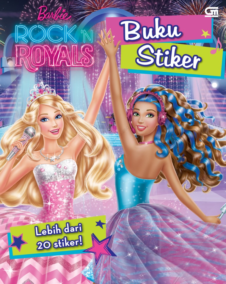Buku Digital Barbie in Rock 'n Royals oleh Mattel