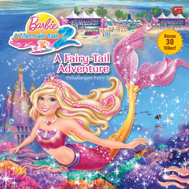 Barbie in a Mermaid Tale: Petualangan Fairy Tail by Mattel Digital Book