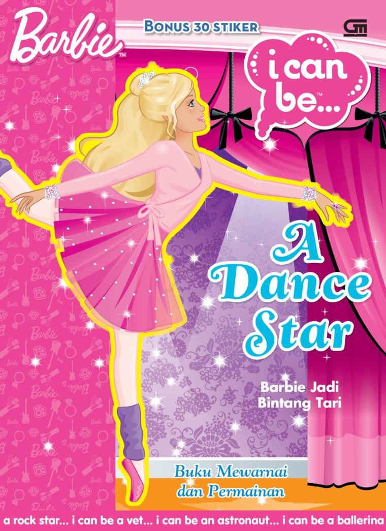 Buku Digital Barbie I Can Be: Barbie Jadi Bintang Tari oleh Mattel