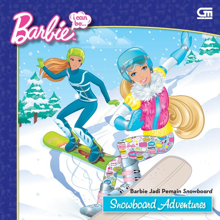 Buku Digital Barbie I Can Be: Barbie Jadi Pelatih Sepak Bola oleh Mattel