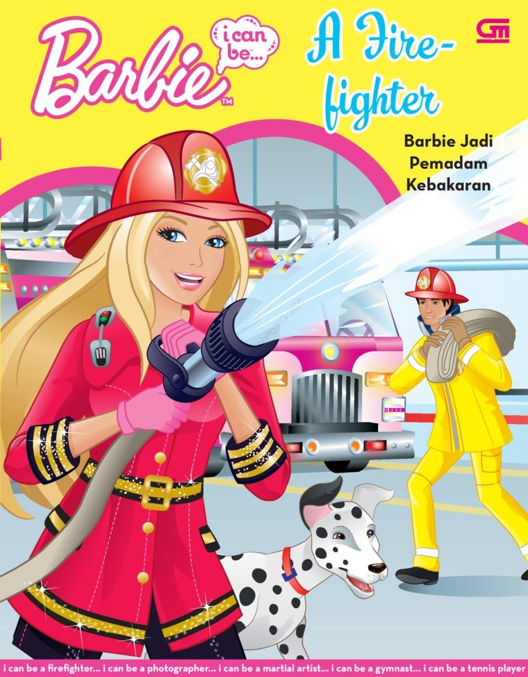 Buku Digital Barbie I Can Be: A Firefighter - Barbie Jadi Pemadam Kebakaran oleh Mattel