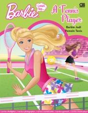 Cover Barbie I Can Be: Barbie Jadi Pemain Tennis oleh Mattel