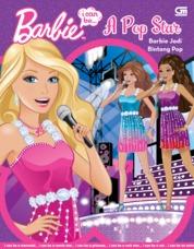 Cover Barbie I Can Be: A Pop Star - Barbie Jadi Bintang Pop oleh Mattel