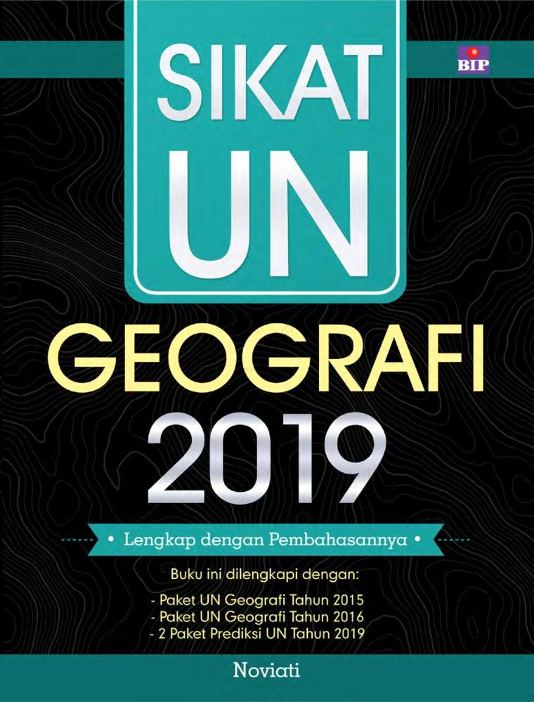 Buku Digital Sikat UN Geografi 2019 SMA/MA oleh Noviati
