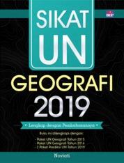 Cover Sikat UN Geografi 2019 SMA/MA oleh Noviati