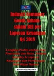 Saham-Saham Industri Consumer Goods di BEI per Laporan Keuangan Q4 2018 by Buddy Setianto Cover