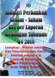 Industri Perbankan Saham-saham BEI per Laporan Keuangan Tahunan Q4 2018 by Buddy Setianto Cover