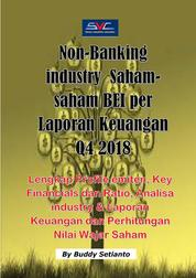 Saham-Saham Non Banking Industri di BEI per Laporan Keuangan Q4 2018 by Buddy Setianto Cover