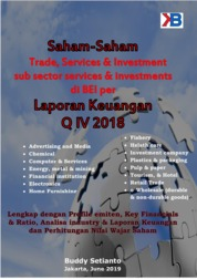 Cover Saham-Saham Trade, Services & Investments di BEI per Laporan Keuangan Q4 2018 oleh Buddy Setianto