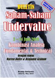 Cover Buletin Saham-Saham Undervalue 03-14 JUN 2019 - Kombinasi Fundamental & Technical Analysis oleh Buddy Setianto