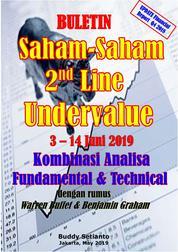 Cover Buletin Saham-Saham 2nd Line Undervalue 03-14 JUN 2019 - Kombinasi Fundamental & Technical Analysis oleh Buddy Setianto