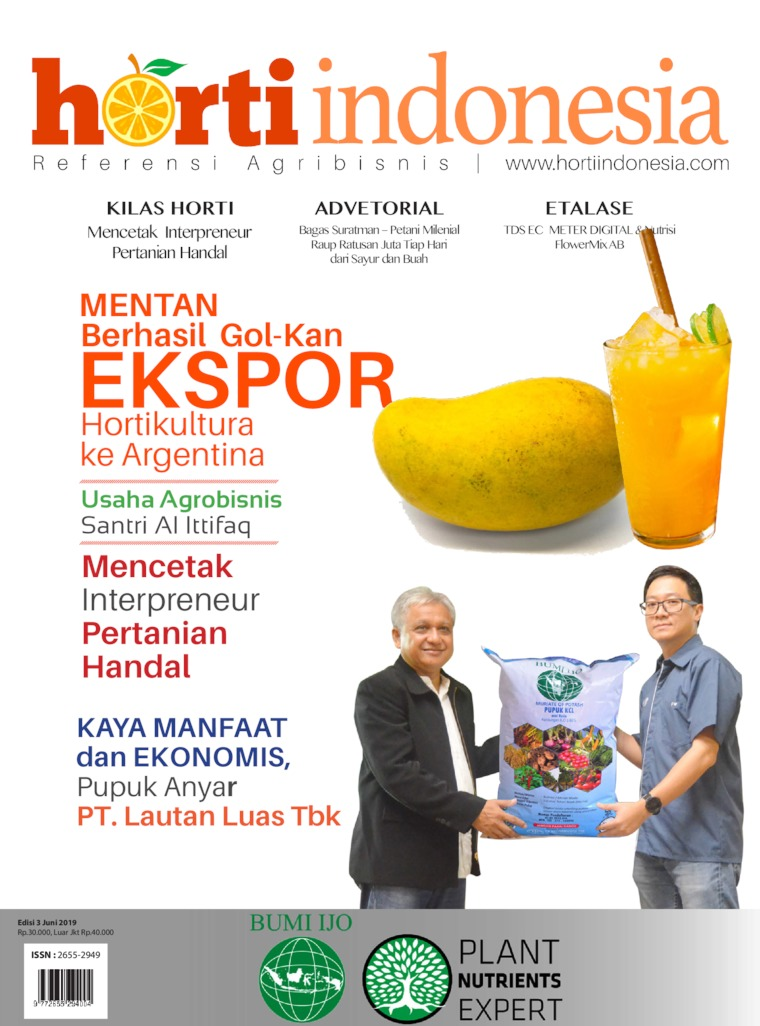 Horti Indonesia Digital Magazine ED 03 June 2019