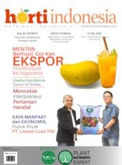 Cover Majalah horti Indonesia ED 03 Juni 2019