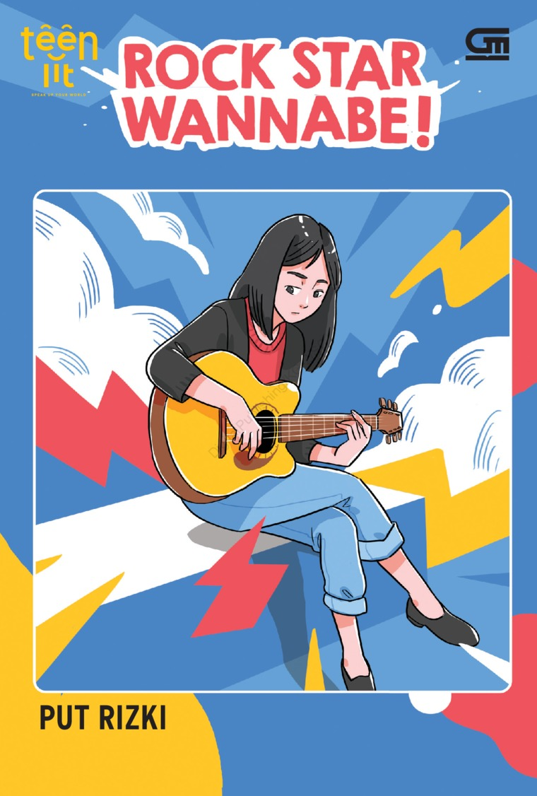 TeenLit: Rock Star Wannabe by Put Rizki Digital Book