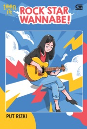 TeenLit: Rock Star Wannabe by Put Rizki Cover