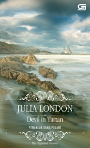 Historical Romance: Penakluk Sang Pelaut (Devil in Tartan) by Julia London Cover