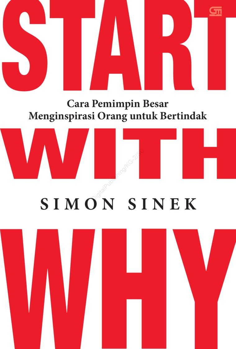 Start With Why by Simon Sinek Digital Book