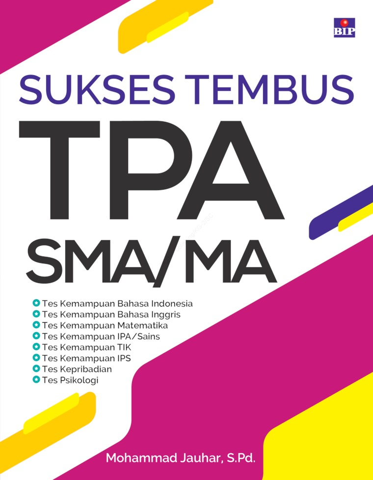 SUKSES TEMBUS TPA SMA/MA by Mohammad Jauhar, S.Pd. Digital Book