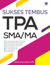 SUKSES TEMBUS TPA SMA/MA by Mohammad Jauhar, S.Pd. Cover