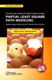 Cover Generasi Baru Mengolah Data Penelitian dengan Partial Least Square Path Modeling oleh Sofyan Yamin, Heri Kurniawan