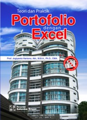 Cover Teori dan Praktik Portofolio dengan Excel oleh Jogiyanto Hartono
