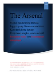 Cover The Arsenal oleh Wirawan Pamuji