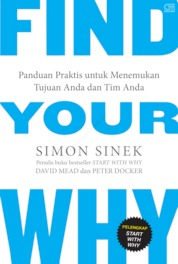 Cover Find Your Why oleh Simon Sinek