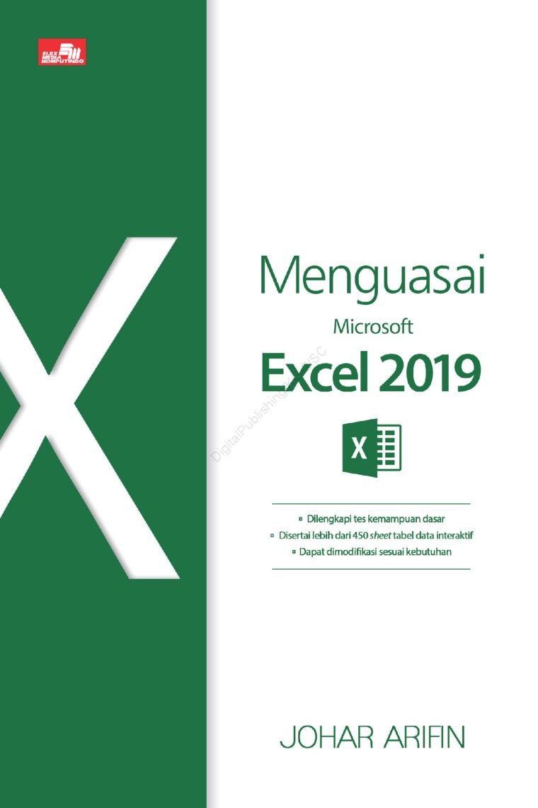 Menguasai Microsoft Office Excel 2019 by Johar Arifin Digital Book