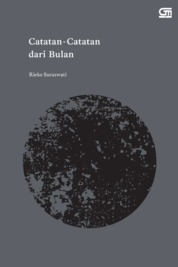 Cover Catatan-Catatan dari Bulan oleh Rieke Saraswati