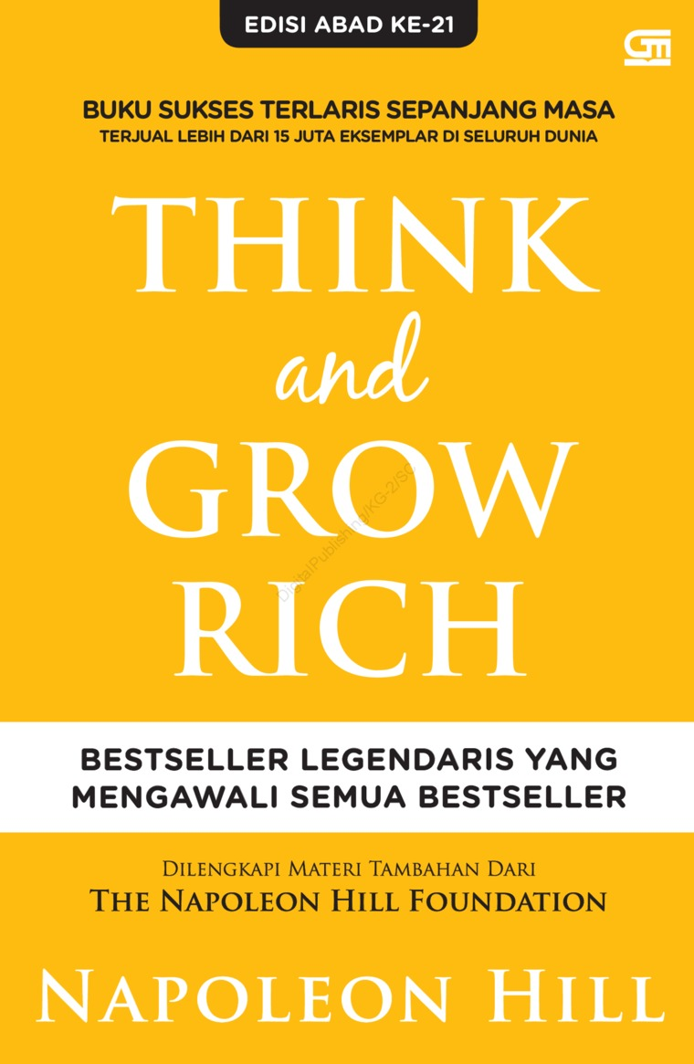 Think and Grow Rich by Napoleon Hill Digital Book