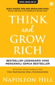 Think and Grow Rich by Napoleon Hill Cover