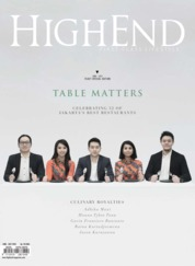 HIGHEND Magazine Cover June-July 2018