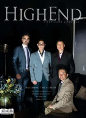 HIGHEND Magazine Cover August 2018