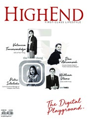HIGHEND Magazine Cover October 2018
