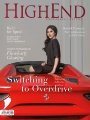 HIGHEND Magazine Cover October 2019