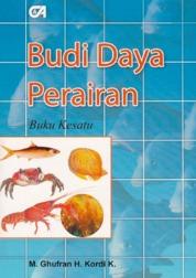 Budi Daya Perairan Buku Kesatu by M. Ghufran H. Kordi K. Cover