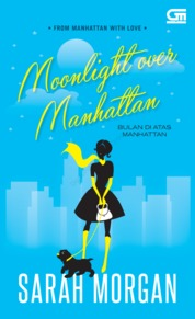 Harlequin: Bulan di Atas Manhattan (Moonlight over Manhattan) by Sarah Morgan Cover