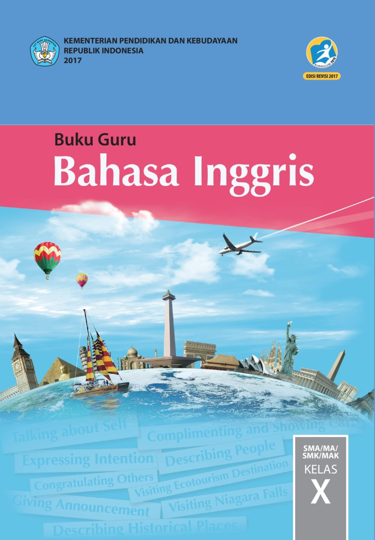 Buku Digital Buku Guru Bahasa Inggris SMA Kelas X oleh Utami Widiati, Zuliati Rohmah, dan Furaidah