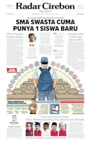 Radar Cirebon Cover 15 July 2019