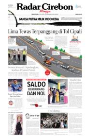 Cover Radar Cirebon 21 Juli 2019