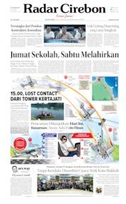 Radar Cirebon Cover 23 July 2019