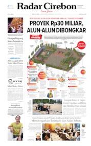 Radar Cirebon Cover 03 August 2019