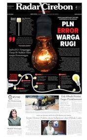 Radar Cirebon Cover 05 August 2019