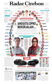 Radar Cirebon Cover 12 August 2019