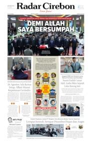 Radar Cirebon Cover 13 August 2019
