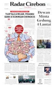 Radar Cirebon Cover 14 August 2019