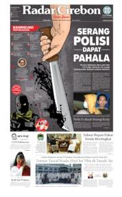 Radar Cirebon Cover 19 August 2019
