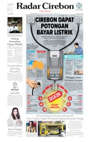 Radar Cirebon Cover 20 August 2019