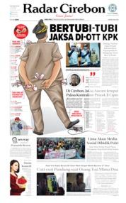 Radar Cirebon Cover 21 August 2019