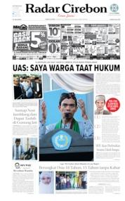 Radar Cirebon Cover 23 August 2019